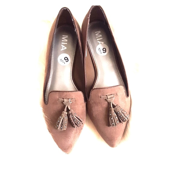 5e05fc1919 Mia Shoes | New Pointed Flat Brown Color Suze 65 | Poshmark